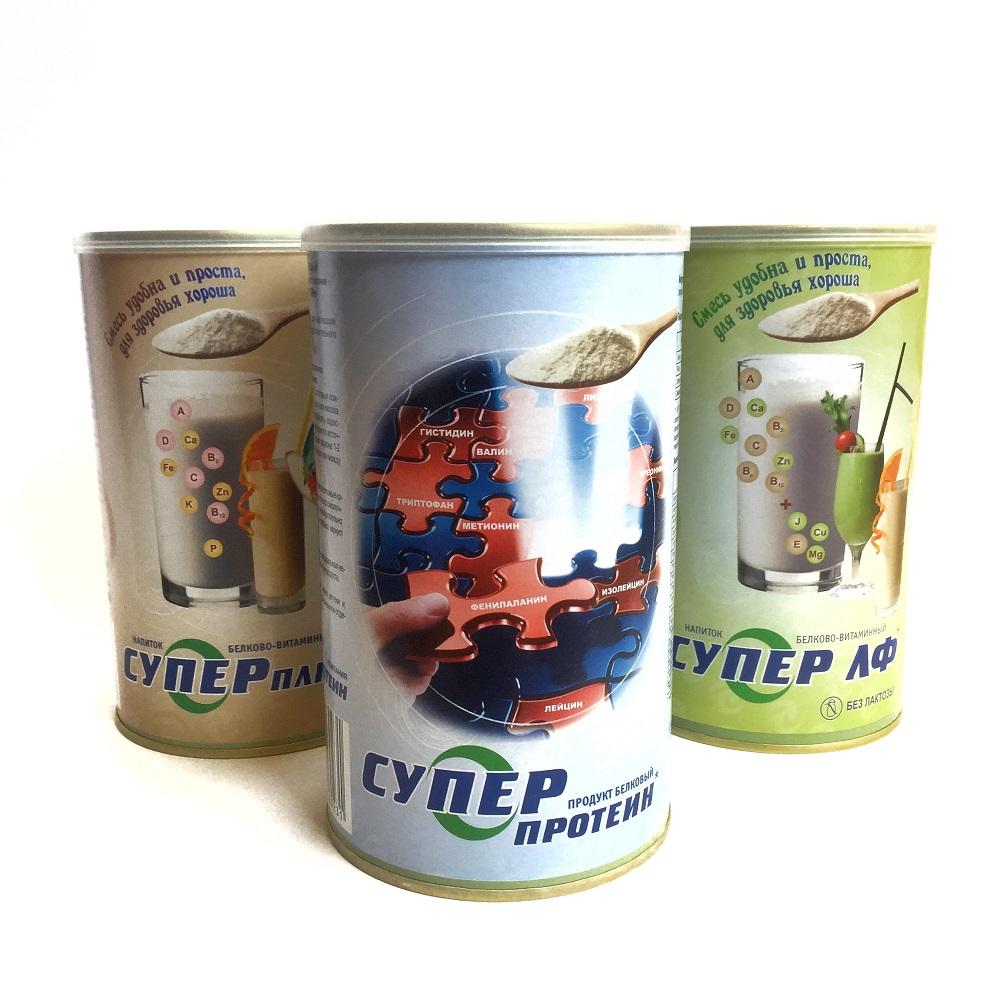 Супер ЛФ (СУПРО ЛФ) безлактозная белково-витаминная сухая смесь 500 гр.